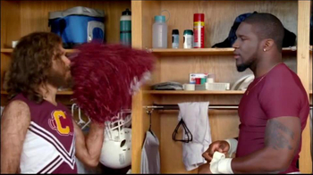 GEICO TV Spot, 'Cheerleader Caveman' Featuring Brian Orakpo - Thumbnail 6