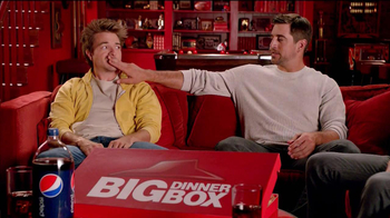 Pizza Hut Big Dinner Box TV Spot 'Hush' Featuring Aaron Rodgers - 124 commercial airings