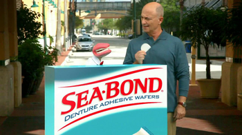 Sea Bond TV Spot for Adhesive Wafers