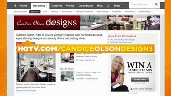 HGTV TV Spot, 'Candice Olson Designs'