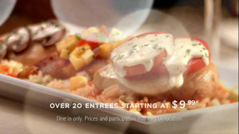 Ruby Tuesday TV Spot for Entrees Starting At $9.99