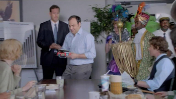 Zatarain's Frozen Entrees TV Spot, 'Jazz Up a Dry Meeting'