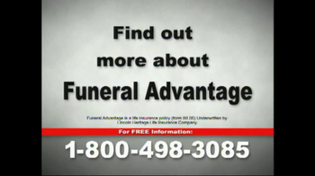 Funeral Advantage TV Spot for Life Insurance - Thumbnail 3