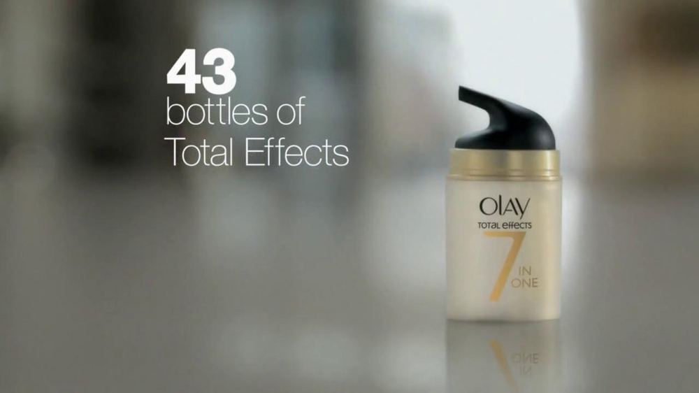 Olay Total Effects Tv Commercial Featuring Caroline Penry