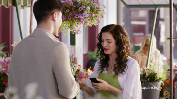 Square TV Spot, 'Flower Shop'