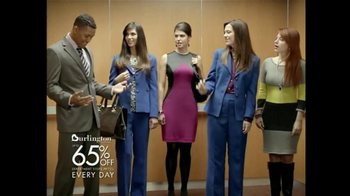 Burlington Coat Factory TV Spot, 'Elevator'