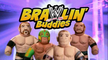 WWE Brawlin' Buddies TV Spot  - Thumbnail 1