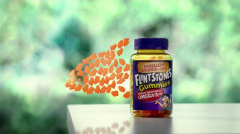Flintstones Gummies Omega-3 DHA TV Spot