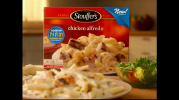 Stouffer's Chicken Alfredo TV Spot, 'Dinner and a Movie'