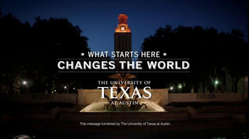 University of Texas at Austin TV Spot, 'What Starts Here Changes the World'