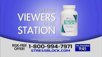 Stress Block TV Spot, 'Do you Live with Stress?'