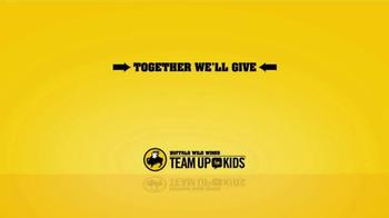Buffalo Wild Wings TV Spot, 'Team Up for Kids' - Thumbnail 2