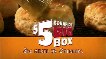 Popeyes $5 Bonafide Big Box TV Spot, 'It's Big'