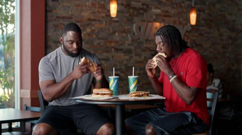 Subway TV Spot, 'No Challenge' Featuring Robert Griffin III, Justin Tuck - 22 commercial airings