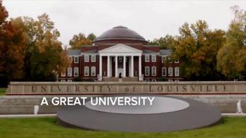 University of Louisville TV Spot, 'A Great City'