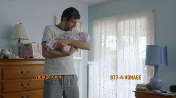 Vonage Unlimited Calling TV Spot, 'Bundle of Joy'