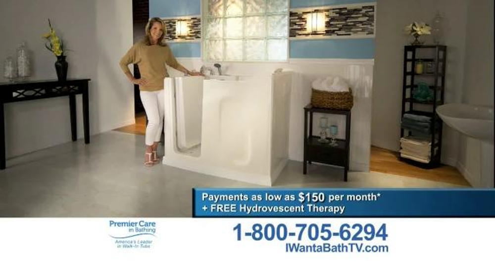 Premier Care TV Commercial 39 I Want A Bath 39