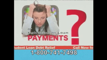 Student Loan Debt Relief TV Spot, 'So You Can Pay Much Less'