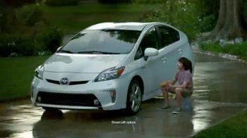 2015 Toyota Prius Liftback TV Spot, 'Rain'