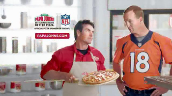 Papa John's Ultimate Meats Pizza TV Spot Featuring Peyton Manning - 1742 commercial airings