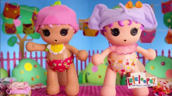 Lalaloopsy Babies Diaper Surprise TV Spot, 'Surprise Charm'
