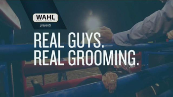 wahl trimmers tv commercial 39 real guys real grooming. Black Bedroom Furniture Sets. Home Design Ideas