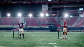 VISA Checkout TV Spot, 'One-Handed' Featuring Larry Fitzgerald, Drew Brees