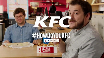 KFC $5 Fill Ups TV Spot, 'Long Sandwich' - Thumbnail 6
