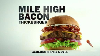 Carl's Jr. Mile High Bacon Thickburger TV Spot, 'Propositioning' - Thumbnail 8