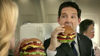 Carl's Jr. Mile High Bacon Thickburger TV Spot, 'Propositioning' - Thumbnail 5