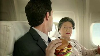 Carl's Jr. Mile High Bacon Thickburger TV Spot, 'Propositioning' - Thumbnail 7