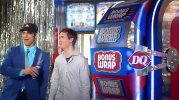 Dairy Queen Chicken Wrap $5 Buck Lunch TV Spot, 'Bonus Wrap'