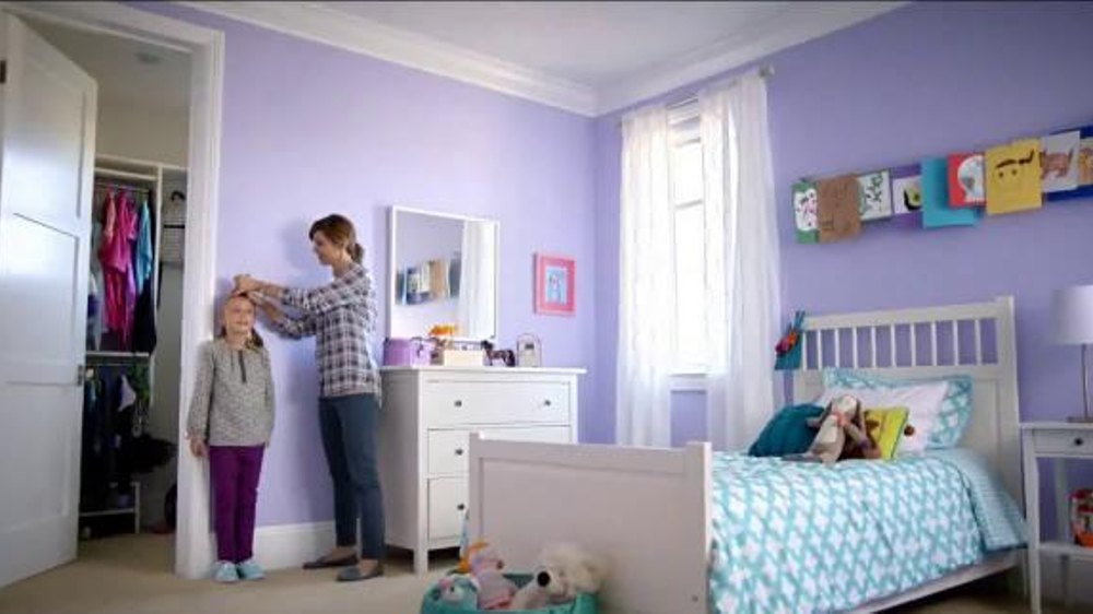 Bedroom Colors Home Depot the home depot tv commercial, 'worry-proof the walls' - ispot.tv