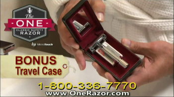 One Razor by Micro Touch TV Spot Featuring Rick Harrison - Thumbnail 9