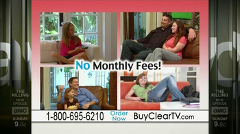 Clear TV Digital Antenna TV Spot, 'Watch TV for Free' - Thumbnail 10