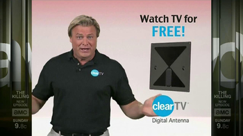 Clear TV Digital Antenna TV Spot, 'Watch TV for Free' - Thumbnail 2