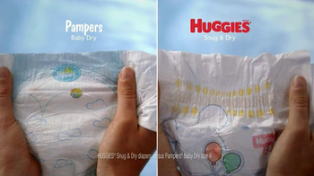 Huggies Snug & Dry TV Spot 'Baby Yoga'