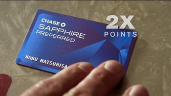 Chase Sapphire TV Spot Featuring Chef Nobu Matsuhisa - Thumbnail 8