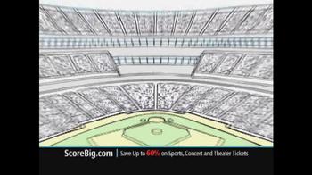ScoreBig.com TV Spot, 'Discount Tickets' - Thumbnail 6