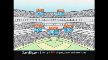 ScoreBig.com TV Spot, 'Discount Tickets' - Thumbnail 7