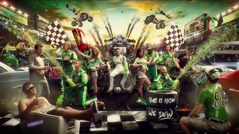 Diet Mountain Dew TV Spot, 'Living Portrait' Featuring Dale Earnhardt, Jr. - Thumbnail 5