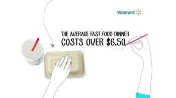 Walmart TV Spot, 'Fast Food Savings'