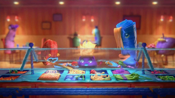 General Mills TV Spot, 'Fruitsnackia: Buffet'