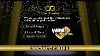 Capital Gold Group TV Spot, 'One-ounce Gold Bar' - Thumbnail 6