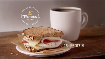 Panera Bread TV Spot, 'Breakfast Power Sandwich'