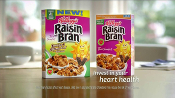 Kellogg\'s Raisin Bran with Flax Seed TV Spot