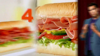 Subway $4 Lunch TV Spot, '4 Everyone' - Thumbnail 3