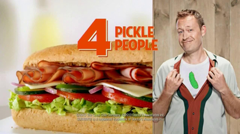 Subway $4 Lunch TV Spot, '4 Everyone' - Thumbnail 7