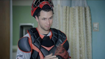 Esurance TV Spot, 'Sorta Doctor' Featuring Buster Posey - 1910 commercial airings