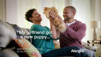Allegra Gel Caps TV Spot, 'New Puppy'
